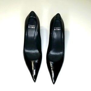 EUC Stuart Weitzman Leather Pointy Heels